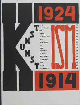 Lissitzky & Arp - El Lissitzky und Hans Arp. Die Kunstismen / Les ismes de l'art / The Isms of Art. 1914 - 1924. Trilingual edition in English, French, German. Abstrakter Film. Konstruktivismus. Verismus. Proun. Kompressionismus. Merz. Neo-Plastizismus. Purismus. Dada. Simultanismus. Suprematismus. Metaphysiker. Abstraktivismus. Kubismus. Futurismus. Expressionismus  Baden, Verlag Lars Müller, 1990.  Reprint der Ausgabe von 1925 im Eugen Rentsch Verlag. ISBN 3906700283.