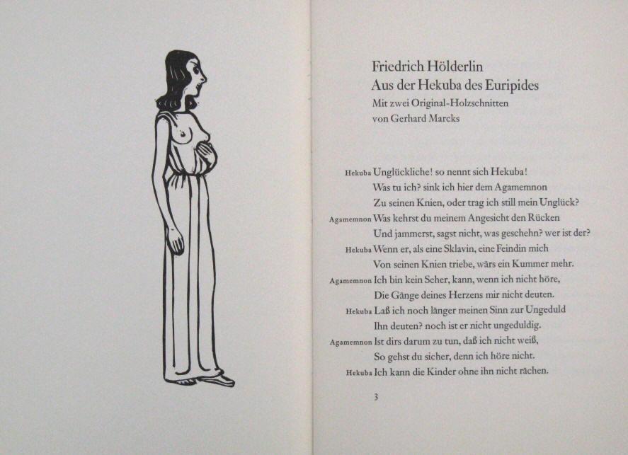 Friedrich Hölderlin Kunst Grafik