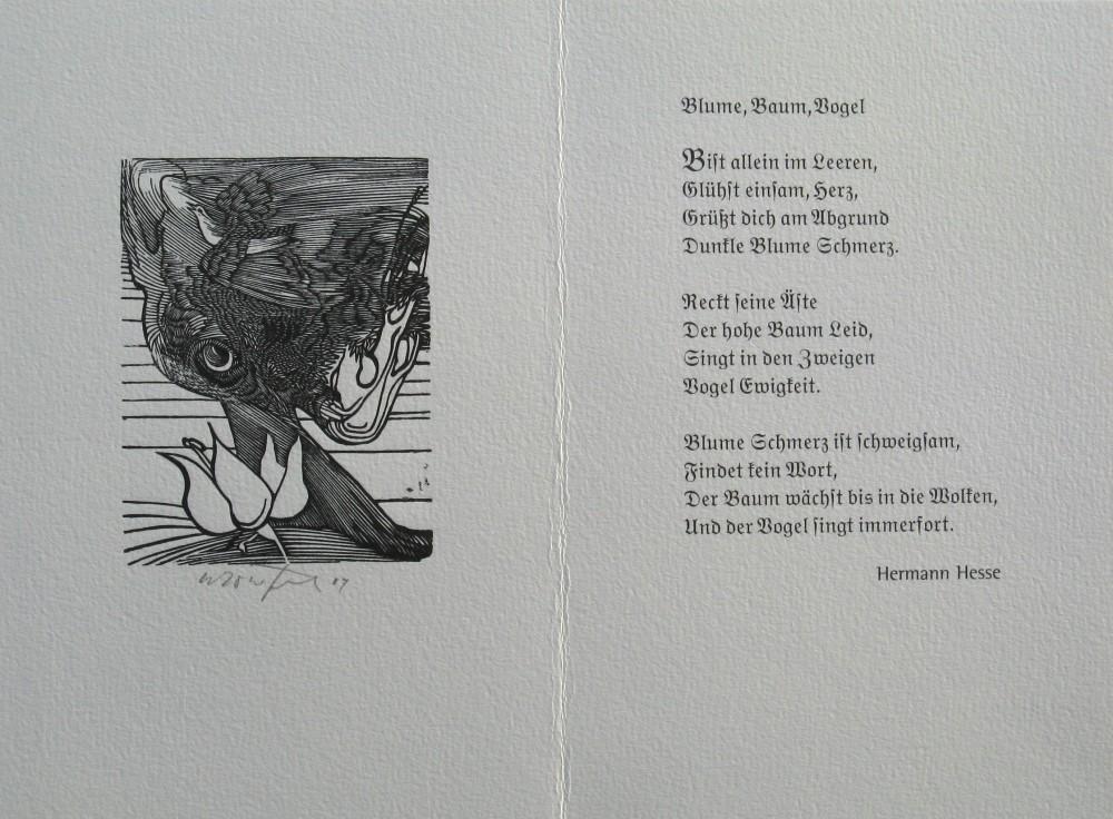 Hermann hesse gedicht tod