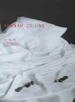 Art exhibition poster - Hannah Collins.  February - March 1992 at Galeria Joan Prats, Barcelona. Printed by Poligrafa.
