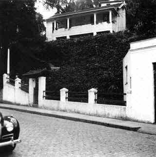 house of Stefan Zweig and Lotte Zweig in Petrópolis in Brazil around 1942