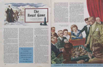 stefan zweig the royal game 1944